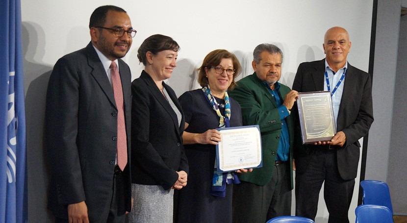 Costa Rica recibe reconocimiento Laboratorio Nacional Aguas