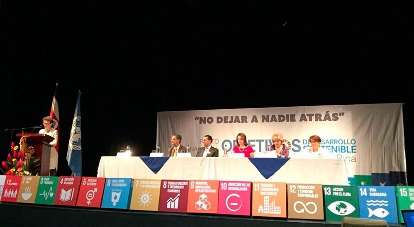 Costa Rica, primer país mundo que suscribe pacto nacional cumplir ODS
