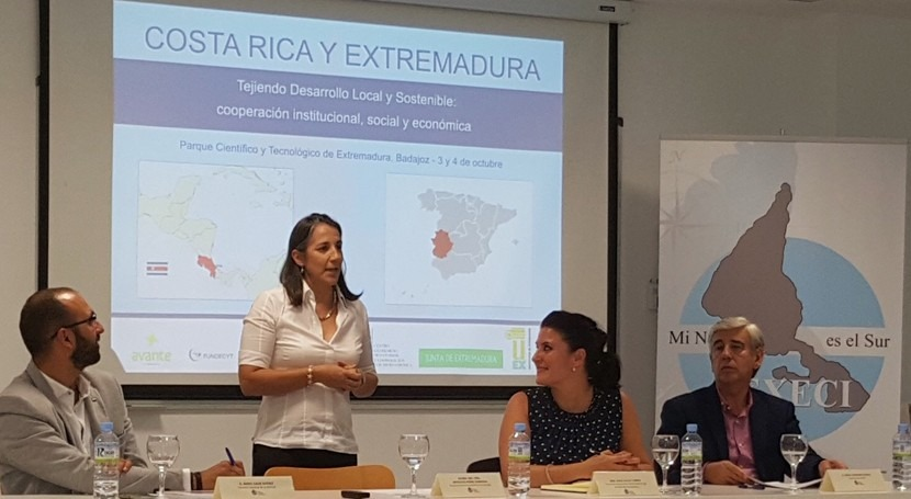 Extremadura y Costa Rica intercambian experiencia gestión recursos hídricos