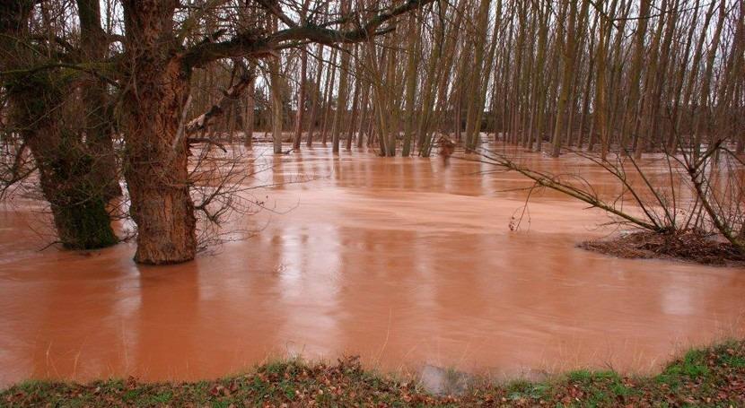 Programada Palencia jornada gestión riesgos inundación y actuaciones cauces