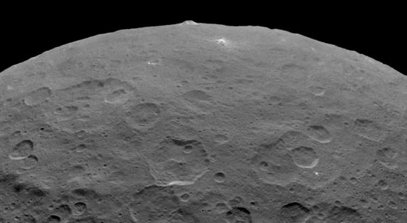 criovulcanismo pudo ayudar moldear planeta enano Ceres