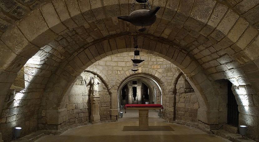 calidad agua Cripta San Antolín Palencia suspende tradición anual