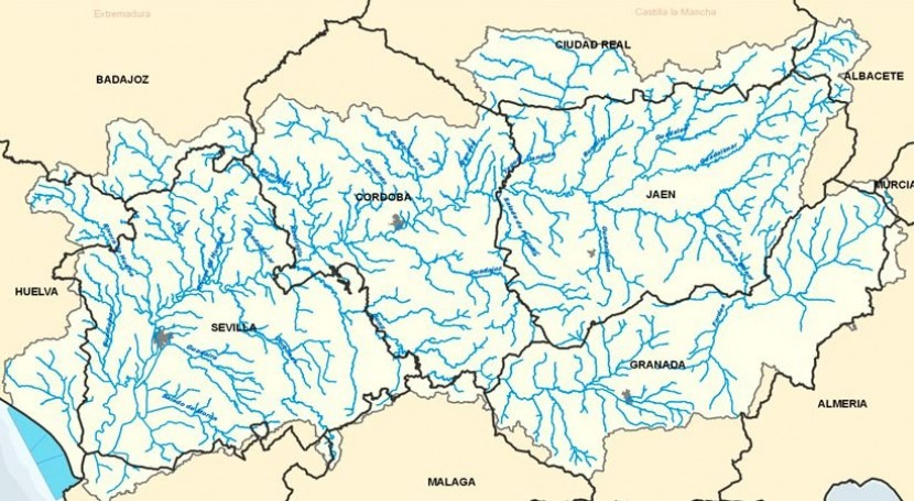 cuenca Guadalquivir mantiene régimen precipitaciones últimos 25 años