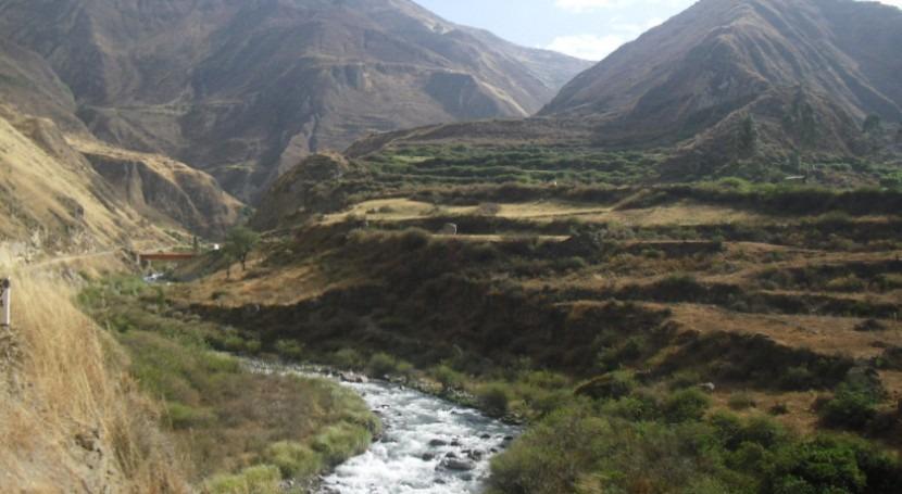modelo TETIS es utilizado simular efectos cambio climático cuenca Perú