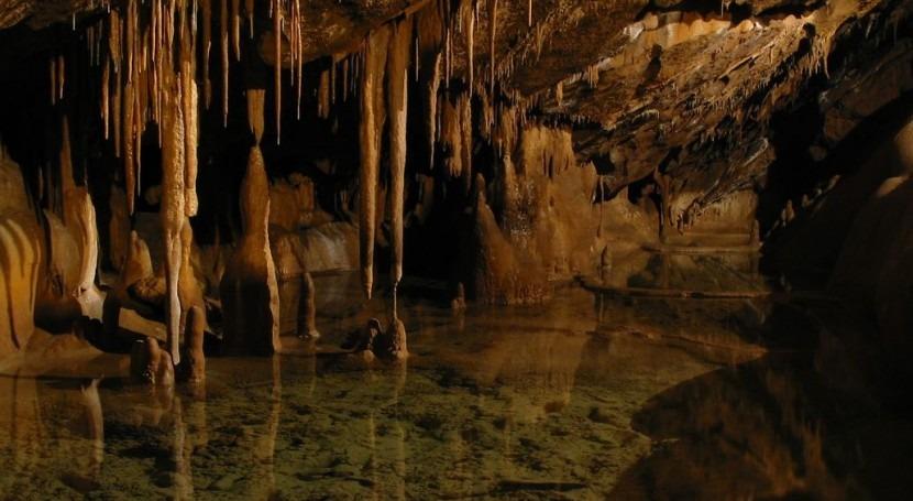 Una de las cuevas incluidas en el inventario