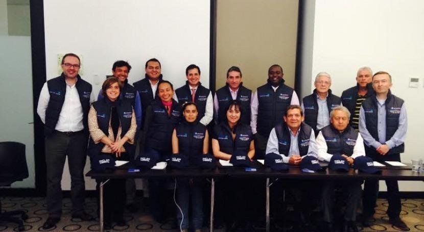 INCLAM estudia gestión riesgos ocho municipalidades colombianas