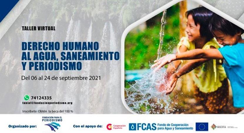 Periodismo y derechos humanos al agua y al saneamiento
