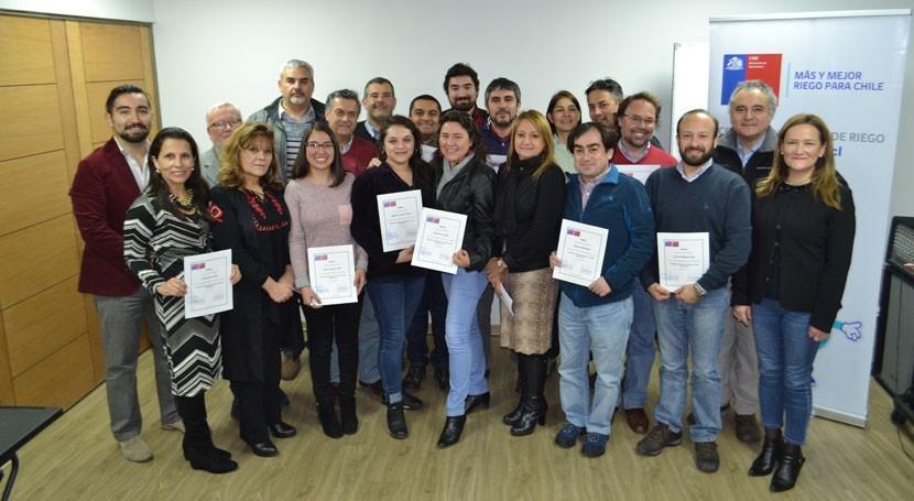 Finaliza éxito curso diseño microcentrales hidroeléctricas Chile