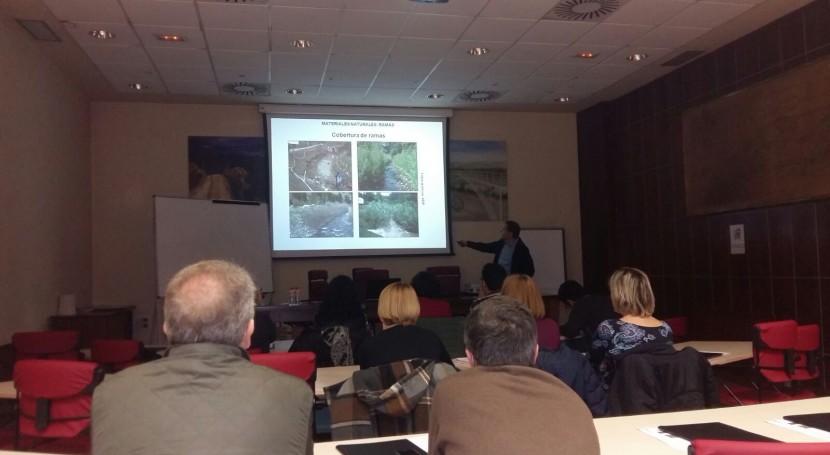 bioingeniería paisaje, protagonista unas jornadas formativas técnicos CHE