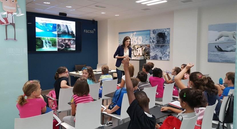 proyecto FACSA ' Curso Agua' conciencia 5.100 escolares