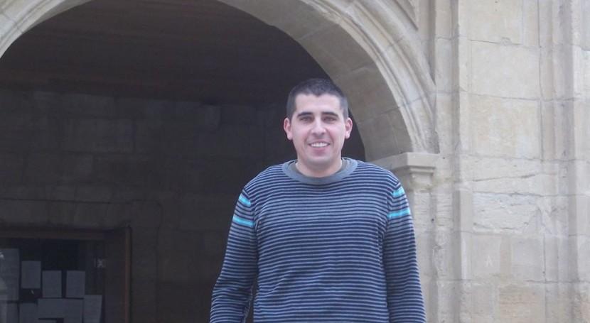 El secretario de Política Ambiental y Energía del PSE-EE Álava, Daniel Senderos.