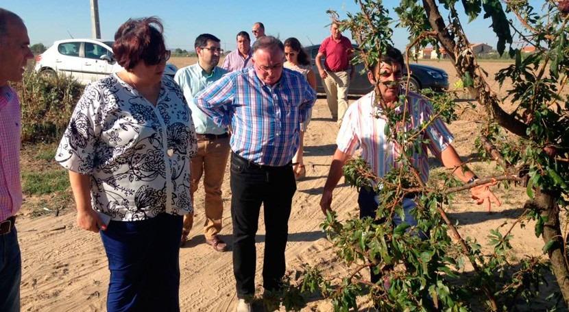 Extremadura pedirá RD Ley que adopte medidas reparar efectos tormentas