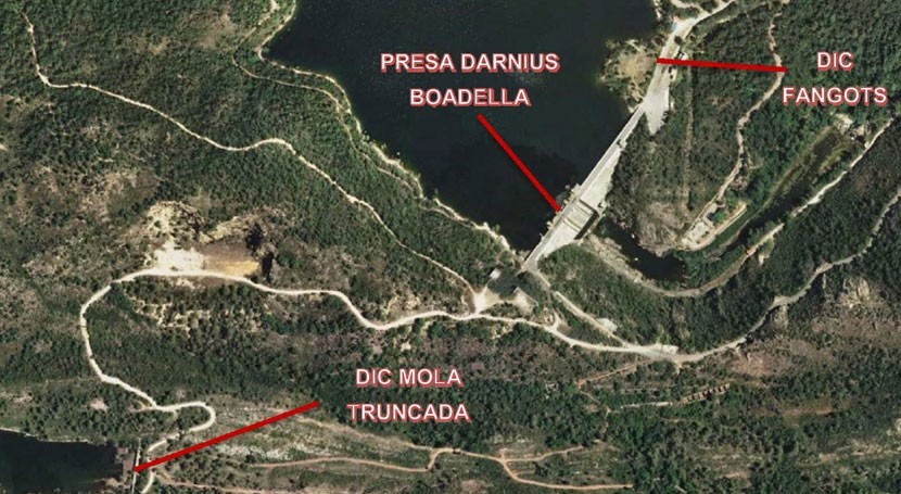 ACA invertirá más 415.400 euros mejorar seguridad presa Darnius Boadella