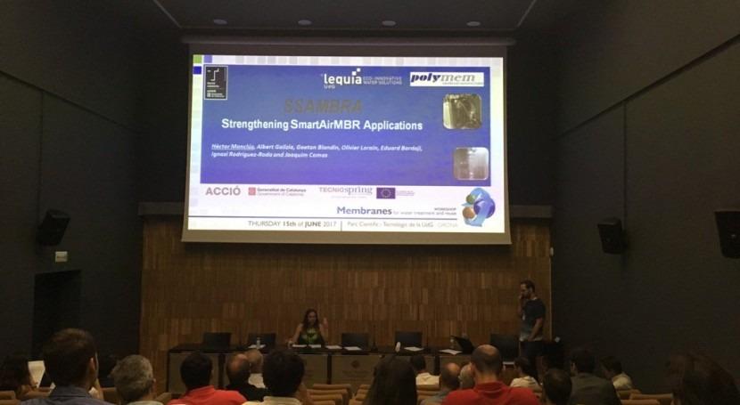"workshop ""Membranes for water treatment and reuse"" reúne más 70 participantes"