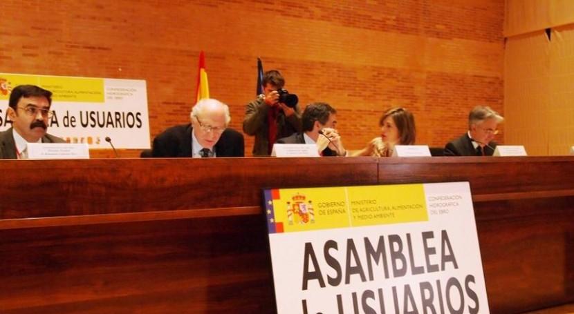 Pedro finaliza etapa CHE apostando políticas novedosas Plan Ebro