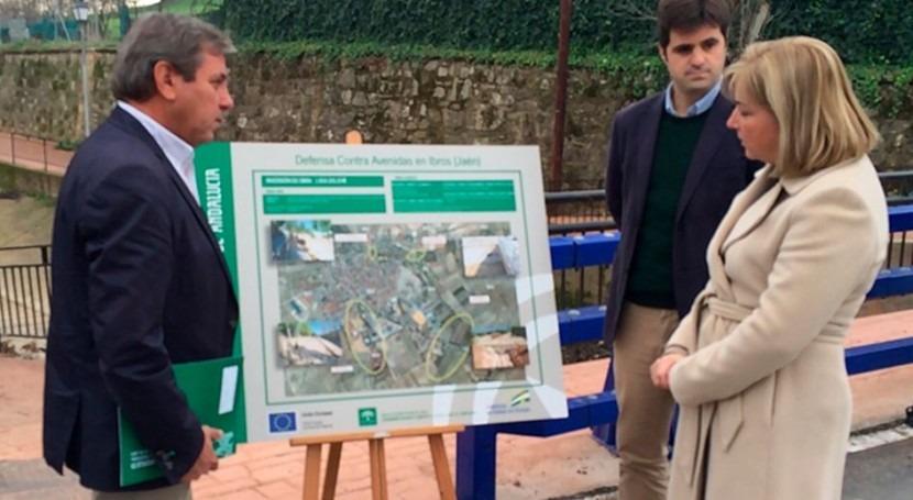 Finalizan obras evitar inundaciones Ibros inversión 1,9 millones euros