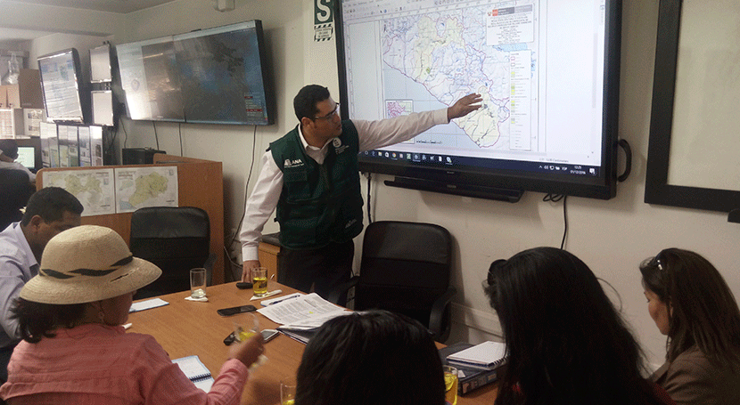 ANA Perú inicia acciones declaratoria emergencia déficit hídrico Arequipa y Tacna
