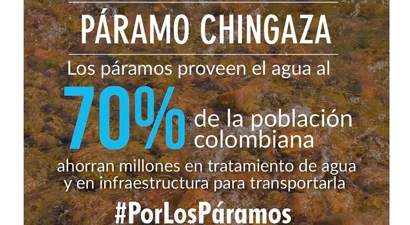 delimitación Páramo Chingaza es avance vital protección agua Colombia