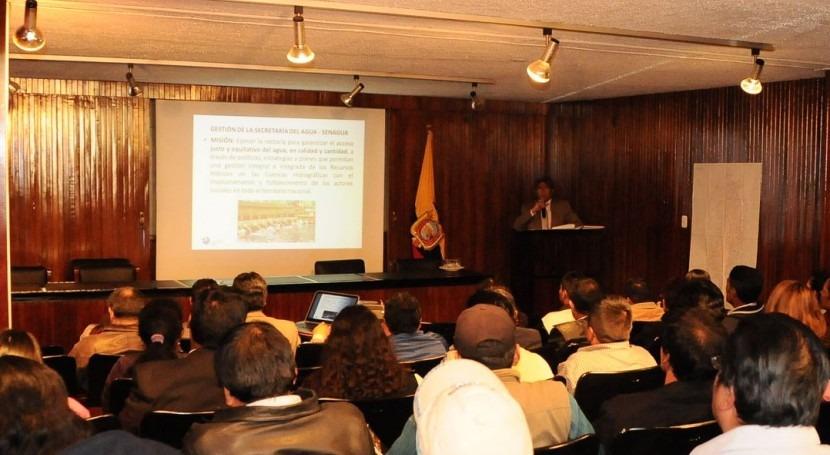 Demarcación Hidrográfica Esmeraldas presentó Rendición Cuentas 2014