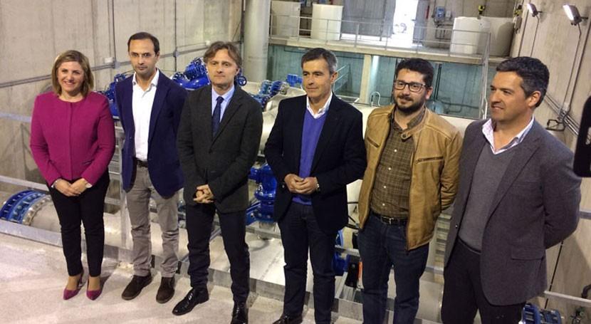 nuevo depósito Agostado Sanlúcar Barrameda podrá abastecer 250.000 personas