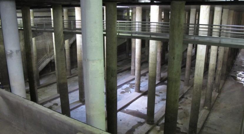 Deposito de pluviales Joan Miro (fuente: Ayuntamiento de Barcelona)