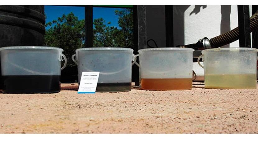 depuración aguas potables y residuales depuradas Interozono
