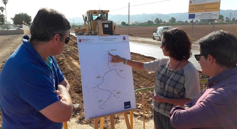 Conventos y Palacios Lorca contarán sistema saneamiento y depuración