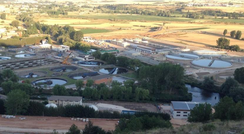 Estación depuradora de aguas residuales de Burgos