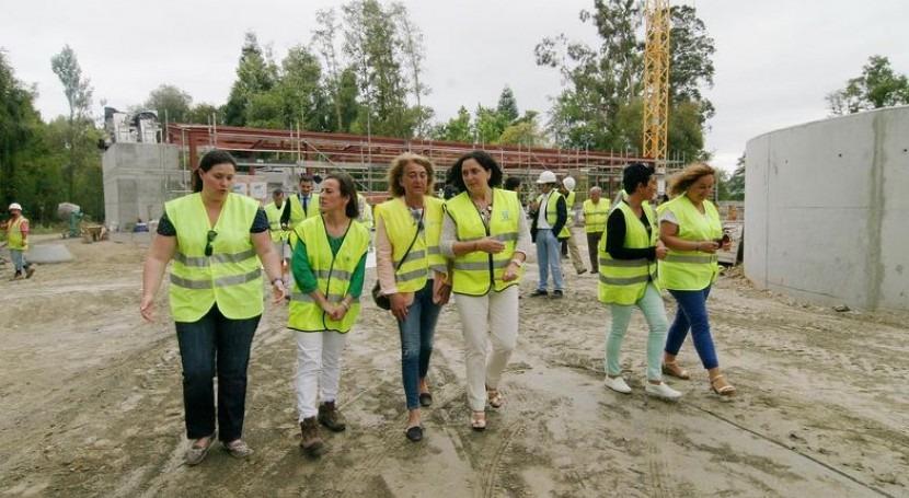 EDAR Gandarío garantiza calidad agua ría Betanzos