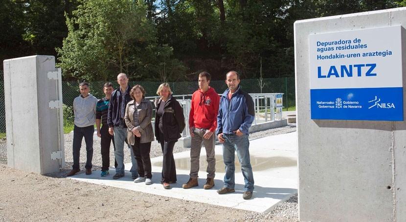 Inaugurada depuradora Lantz, que dará servicio 140 personas