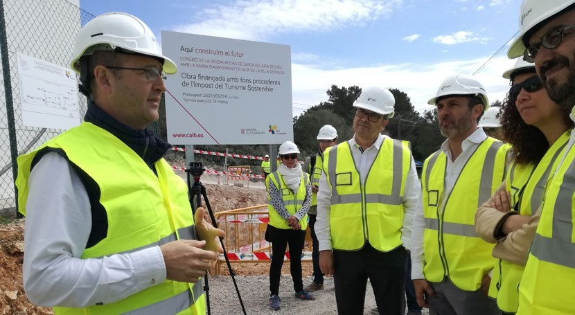 Ibiza, primera isla proyecto hídrico financiado impuesto turismo sostenible