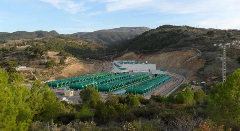 Planta desaladora de Honaine (Argelia), operada por Abengoa.