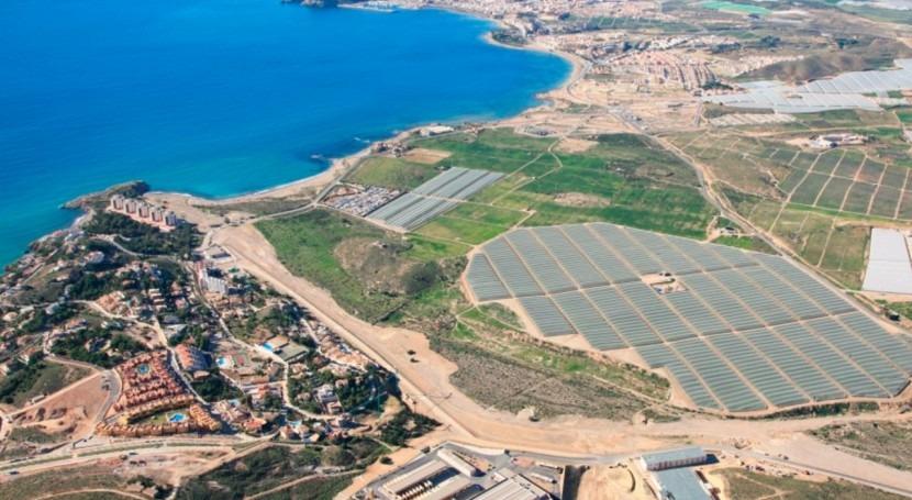 Comunidad Regantes Mazarrón recibirá agua desalinizadora Valdelentisco