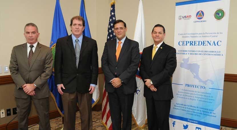 Comienza proyecto gestión desastres y adaptación al cambio climático Centroamérica