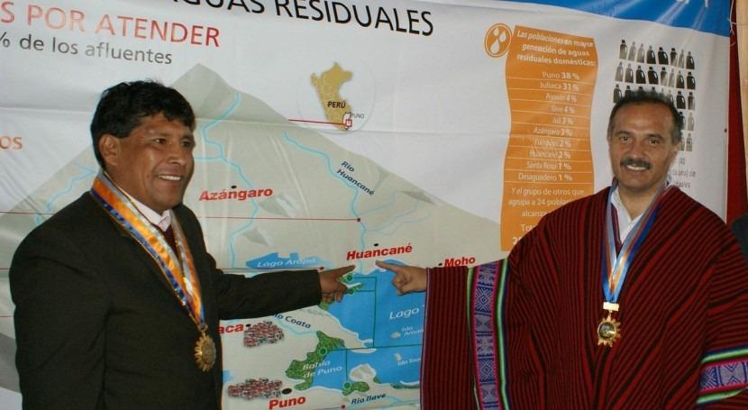 Perú acelera descontaminación lago Titicaca