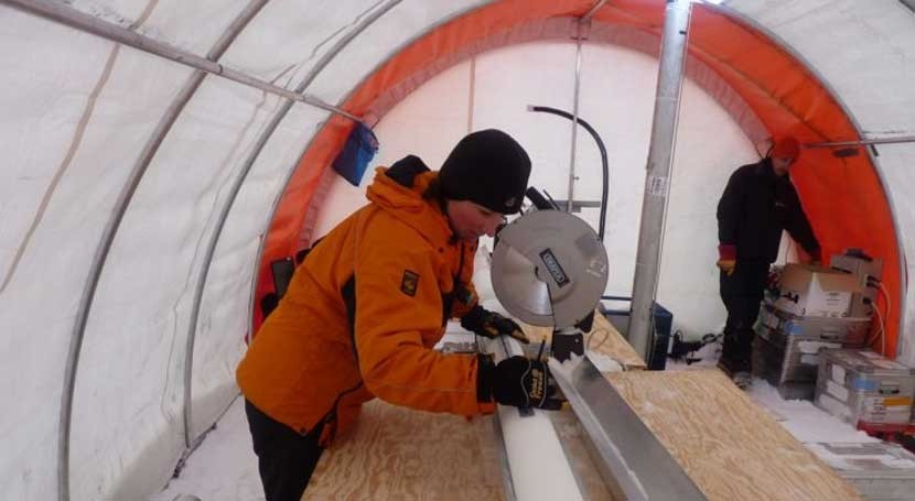 aumento nieve Antártida ha evitado deshielo mayor