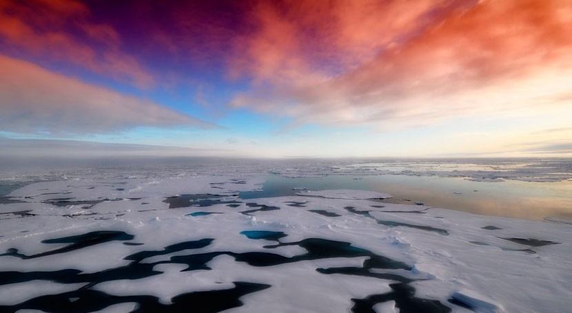 capas hielo podrían estar derritiéndose rápidamente respuesta erupciones volcánicas