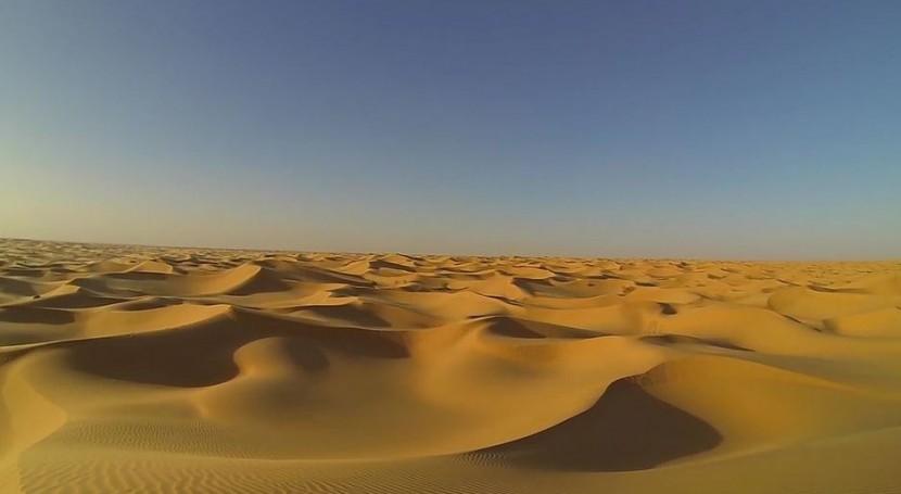 polvo Sáhara fertiliza mar hierro soluble
