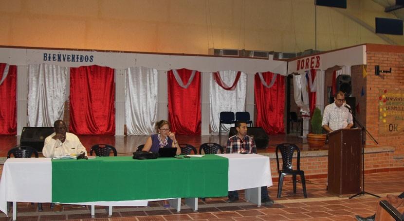 desvío arroyo Bruno, Gobierno colombiano dialoga comunidades implicadas