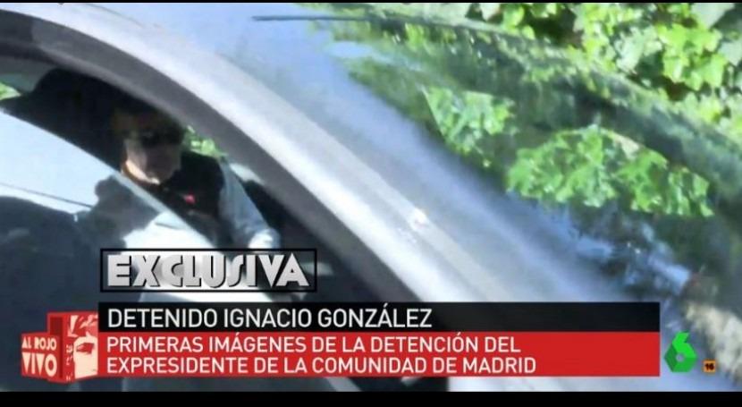 imágenes detención Ignacio González Operación Lezo