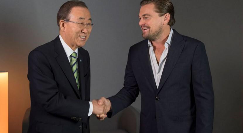 """Leonardo DiCaprio: """" cambio climático es crisis definitoria nuestro tiempo"""""""