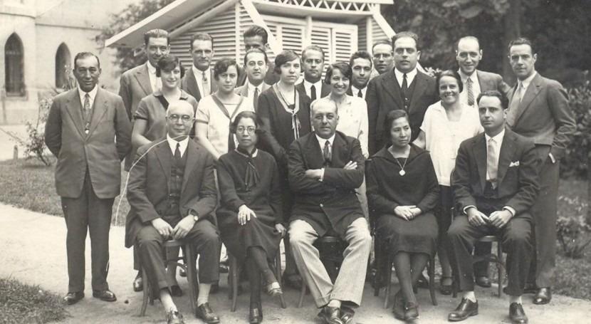 papel mujer Meteorología: ciencia años 20