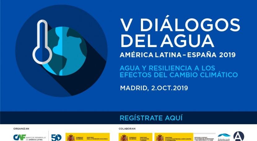 V Diálogos Agua América Latina-España