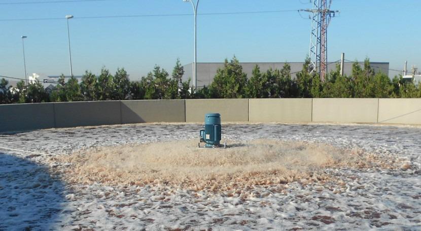 DINOTEC mejora eficiencia energética depuradora matadero Sevilla