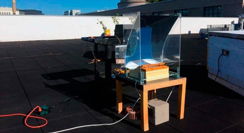 nuevo dispositivo coste convierte agua vapor sobrecalentado