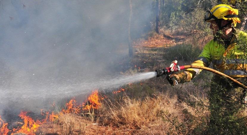 dispositivo Thader prevenir incendios cauce Segura se mantendrá septiembre