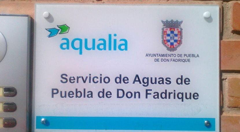 Aqualia invierte año y medio 125.000 euros mejoras hidráulicas Puebla Don Fadrique