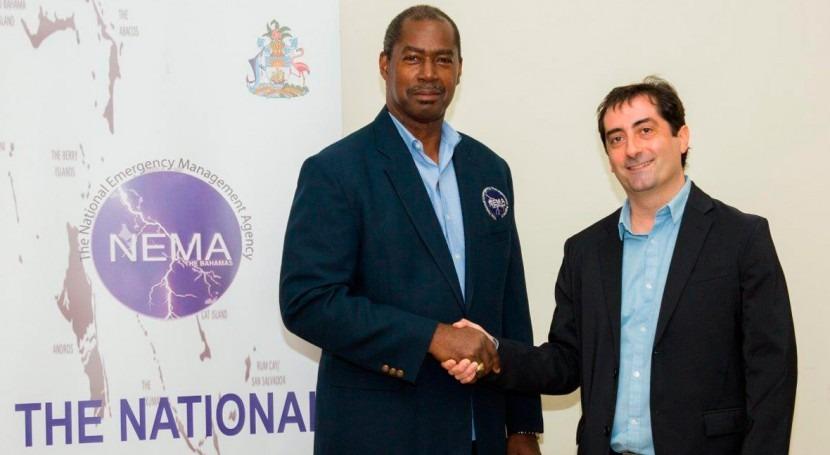 MIYA realiza donación reconstrucción Ábaco y al hogar infantil Gran Bahamas