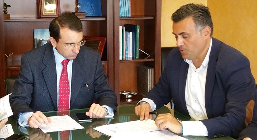 CHT y Coria avanzan protección dominio público hidráulico municipio