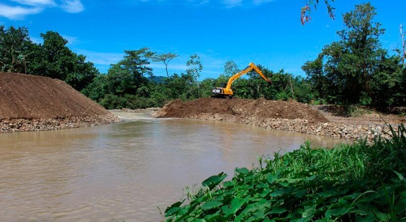 Gobierno Panamá procede al dragado río Chilibre disminuir riesgo inundación